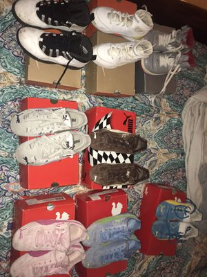 Lot of youth size shoes for Sale in Plantation, FL