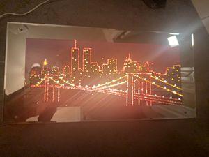New York Skyline Multicolor LED Light Up Portrait for Sale in Johnston, RI