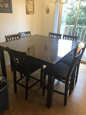 Espresso color kitchen table and chairs for Sale in Puyallup, WA