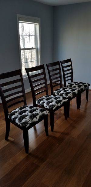 Crate and Barrel High Back Dining Chairs for Sale in Rockville, MD