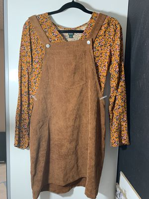 Romwe Corduroy overall dress for Sale in Hacienda Heights, CA