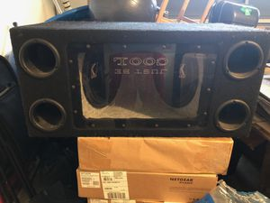 """Two 12""""Kicker subs with box for Sale in San Jose, CA"""