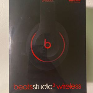 Beats Studio3 Wireless Bluetooth Black / Red Over-Ear Noise Cancelling Headphones - Brand New for Sale in Tampa, FL