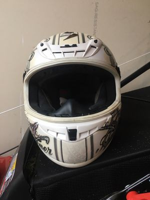 Scorpion women's small motorcycle helmet. Has face shield not needs replacing. Pretty scratched up. for Sale in Nashville, TN