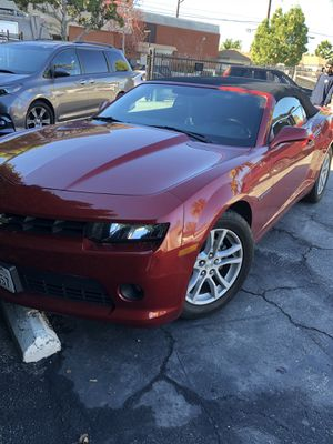 Chevy Camaro cherry red convertible for Sale in Los Angeles, CA