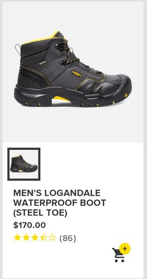 Keen Steel Toed Work Boots for Sale in Obetz, OH