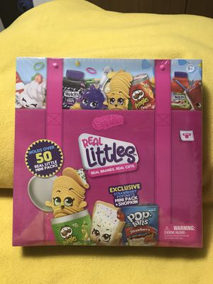 SHOPKINS Series 12 REAL LITTLES COLLECTORS CASE for Sale in Sioux Falls, SD