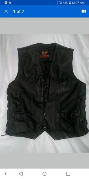 Hot leathers Men's Motorcycle Vest size 50 for Sale in Radford, VA