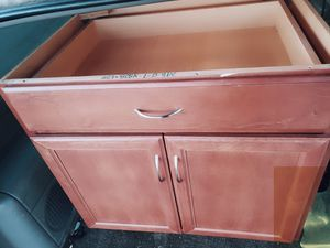 Kitchen Base Cabinet with Ball-Bearing Drawer Glides for Sale in El Cajon, CA