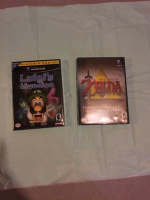 Luigi's mansion and The legend of Zelda collector's edition for Sale in Crest Hill, IL