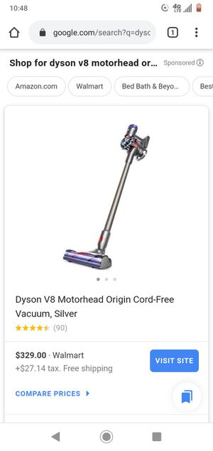 Dyson V8 Cord-Free Vacuum for Sale in Grand Prairie, TX