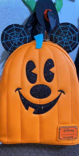 Disney Loungefly Mickey Mouse Jack-O'-Lantern 2020 backpack for Sale in Moreno Valley, CA