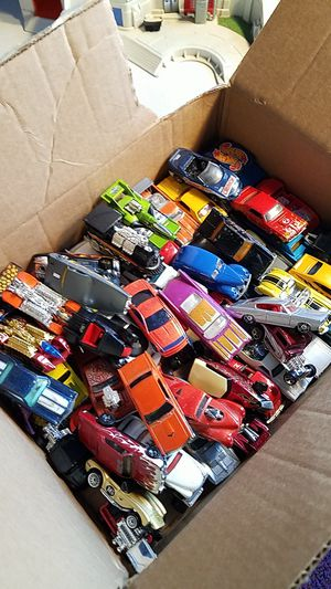 Duplicates 60 beautiful hot wheels from the 80s 90s 2000s for Sale in Brooklyn, CT
