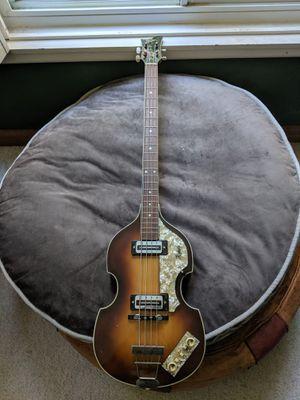 1966 Hofner 500/1 violin bass for Sale in Bethesda, MD