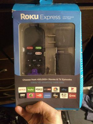 Roku express and phones for Sale in Belpre, OH