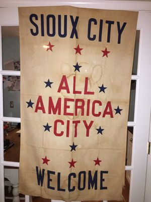 Vintage flag Sioux City for Sale in Falls Church, VA