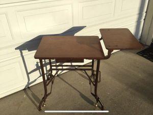 Antique rolling typewriter desk for Sale in San Diego, CA