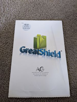 Acer icona tablet Screen Protector for Sale in Phoenix, AZ