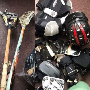 2 sets old used a Lacrosse equipment. FREE for Sale in Staten Island, NY