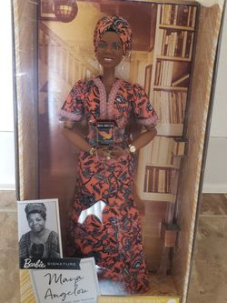 Inspiring Women Series Maya Angelou Barbie Doll for Sale in Fresno,  CA