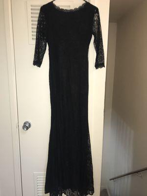Women's long black lace dress size small for Sale in Antioch, CA