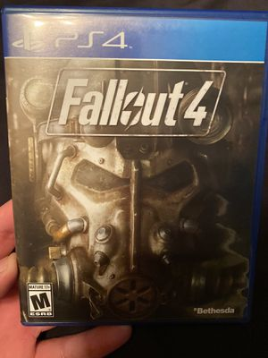 Fallout 4 + Collectors Poster - PS4 for Sale in Anaheim, CA