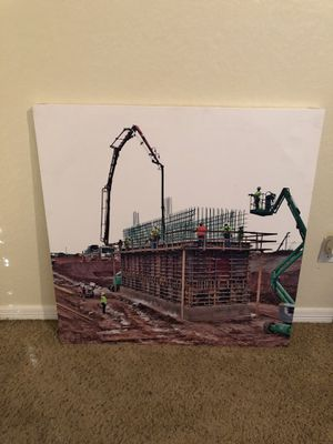 Canvas Construction Photos for Sale in Houston, TX