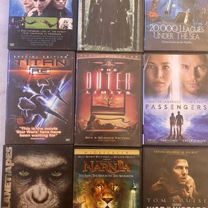 9 DVD Special Sci Fi, Fantasy, Action And Adventure for Sale in Wyandotte, MI