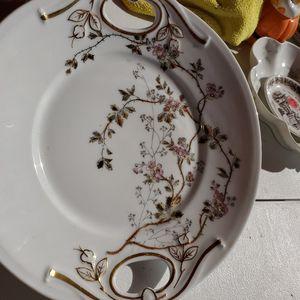 Limoges Pink Flower Server Plate for Sale in San Marcos, CA