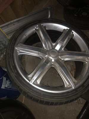 22 inch rims for Sale in Ontario, CA