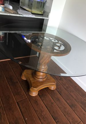 Glass dining room table for Sale in San Diego, CA