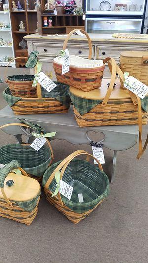 Choice of Longaberger baskets for Sale in Mesa, AZ