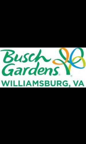Busch Gardens HollowScream Day Passes for Sale in Williamsburg, VA