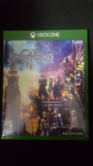 Kingdom hearts 3 game for Sale in Pelham Manor, NY
