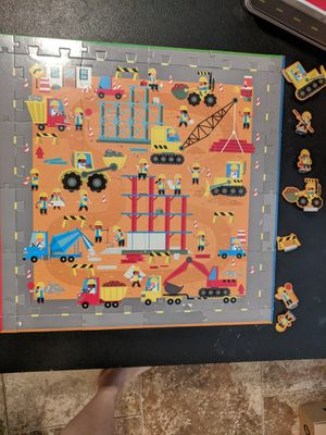 "Cute 20"" children's construction puzzle for Sale in Avon Park, FL"