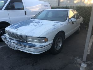 95 Chevy caprice 9c1 police interceptor for Sale in Moreno Valley, CA