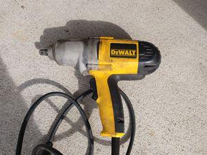 "DeWalt impact wrench gun 1/2"" Auto for Sale in Springfield, VA"