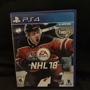 NHL 18 PS4 Edition for Sale in Phoenix, AZ