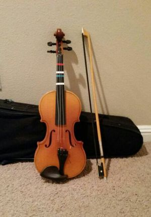 Russian Violin with case and bow for Sale in Portland, OR