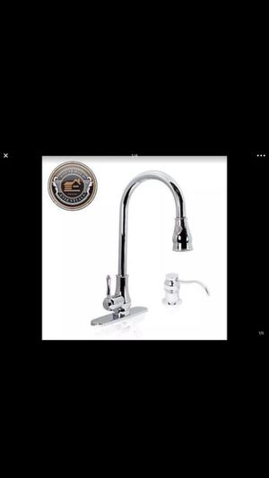 """18"""" Chrome Pull Down Kitchen Sink Faucet with Soap Dispenser ...... CHECK OUT MY PAGE FOR MORE ITEMS for Sale in Baltimore, MD"""