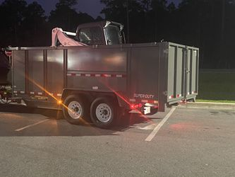 Dump trailer-dumpster for Sale in Orlando,  FL