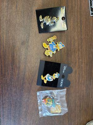 Disney donald duck pins for Sale in Joliet, IL