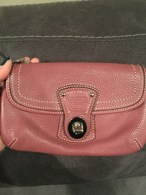 Coach Clutch Pebble Soft Leather for Sale in Rockville, MD