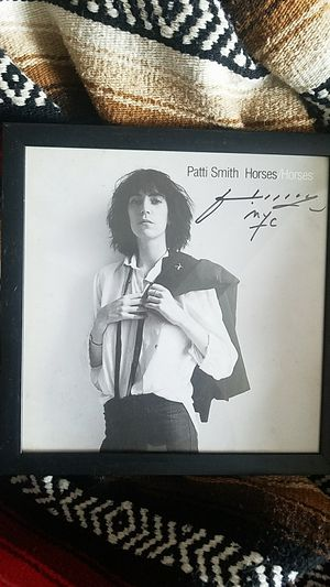 Patti Smith Autographed Framed Potrait for Sale in Fairfax, VA