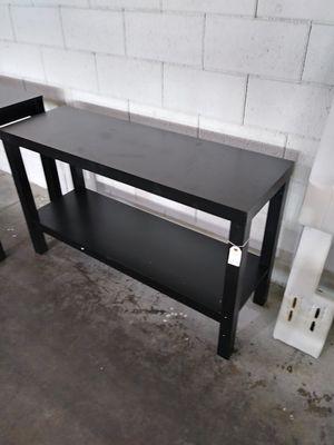Black Parsons Console Table for Sale in Dallas, TX