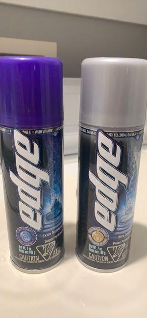 Edge shave cream for Sale in Zebulon, NC
