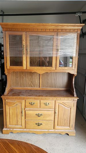 Oak hutch for Sale in Escalon, CA