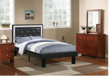 TWIN BED FRAME MATRESS NOT INCLUDED NEW IN BOX FINANCIAMIENTO DISPONIBLE for Sale in Fullerton,  CA