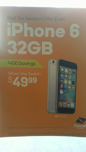 New iphone 6 32GB for Sale in Sanger, CA
