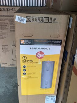 Brand new rheem electric 40 gallon Hot Water Heater Tank. Brand new in box. Comes with 6 year warranty. Can be installed or delivered for Extra for Sale in Philadelphia,  PA